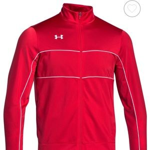 NWT $50 Under Armour Men's Rival Knit Warm-Up